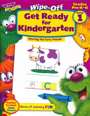 Get Ready for Kindergarten Wipe-Off Book 1   -