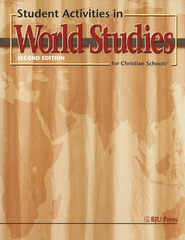 BJU Heritage Studies Grade 7: World Studies, Student Activities    -