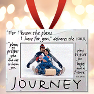 Journey Photo Ornament Frame  -