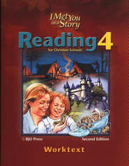 BJU Press Reading 4 Student Worktext (Revised)   -