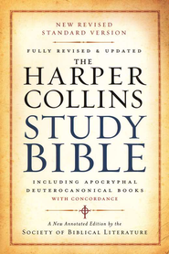 NRSV HarperCollins Study Bible with Apocrypha, Revised, softcover  -              Edited By: Harold W. Attridge