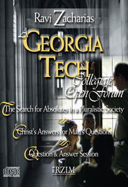 A Georgia Tech Collegiate Open Forum, 3 CDs   -     By: Ravi Zacharias