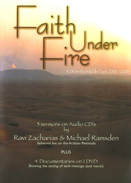Faith Under Fire, 3 CDs & 1 DVD   -     By: Ravi Zacharias