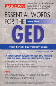 Essential Words for the GED, 2nd Edition   -     By: Sydney L. Langosch