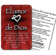 El Amor de Dios, Alfiler y Tarjeta  (God's Love, Lapel Pin and Card)  -