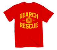 On Patrol Shirt, Red, Large  -