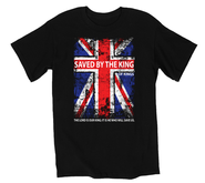 Saved By the King Shirt, Black, XX Large  -