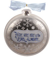 Full of His Glory Glass Ornament  -