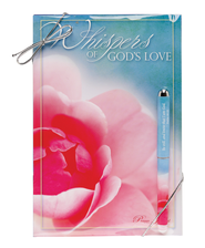Whisper's of God's Love Prayer Journal and Pen Gift Set  -