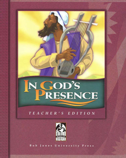 BJU In God's Presence, Teacher's Edition   -