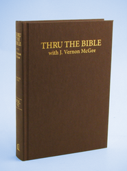 Thru the Bible: Complete Index   -     By: J. Vernon McGee