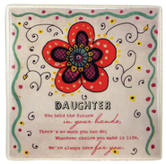 Daughter Ceramic Tile  -