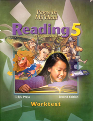 BJU Reading 5, Student Worktext    -