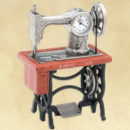 Sewing Machine Desk Clock, Romans 8:28  -