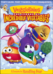 The League of Incredible Vegetables, DVD   -