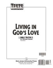 BJU Bible Truths 5: Living in God's Love Tests   -