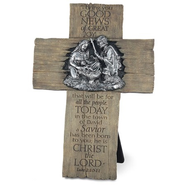 Good News of Great Joy, Nativity Cross  -