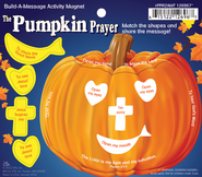 Build A Story Pumpkin Prayer Activity Magnet  -