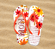 Mom Flip Flops, Small, Size 5-6  -