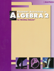 BJU Algebra 2 Activity Manual Student (2nd Edition)   -