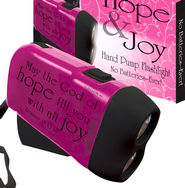 Hope & Joy Hand Powered Flashlight  -
