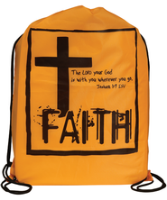 Faith Drawstring Bag  -