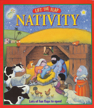 Lift-the-Flap Nativity, Board Book    -              By: Allia Zobel-Nolan