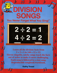Audio Memory Division Songs Book Only   -     By: Larry Troxel