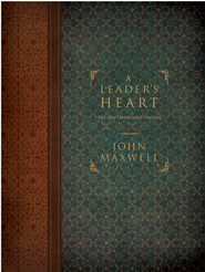A Leader's Heart: 365-Day Devotional Journal - eBook  -     By: John Maxwell