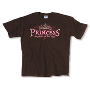 Princess Rhinestone Tee Shirt, Youth Small   -