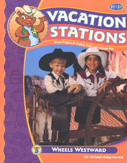 BJU Vacation Stations Book 2: Wheels Westward Grades 1-2   -