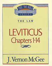 Leviticus I - eBook  -     By: J. Vernon McGee