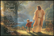 Take My Hand, Mini Mounted Print  -              By: Greg Olsen