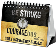 Strong and Courageous Inspirational Flip Easel Book   -
