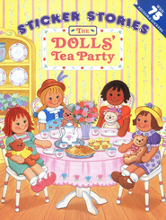 The Dolls' Tea Party with Sticker                           -     By: Laurie Long