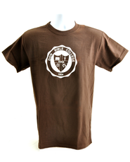 Zion Bible College Short-sleeve Tee, Brown, X-Large (46-48)  -