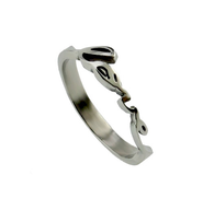 Handwriting Love Ring, Size 5  -