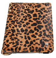 Mini Rotating iPad Cover, Leopard  -