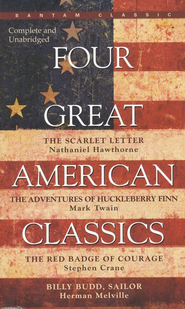 Four Great American Classics   -     By: Nathaniel Hawthorne, Mark Twain, Stephen Crane