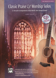 Classic Praise & Worship Solos for Fingerstyle Guitar, Book & Audio CD  -     By: Larry Rench
