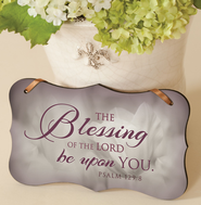Blessing of the Lord Mounted Print Plaque  -
