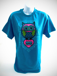 Choose Wisely Shirt, Turquoise, Small  -