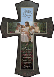 You Are Dearly Loved Cross, Small  -              By: Jon McNaughton