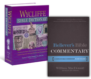 Believer's Bible Commentary/Wycliffe Bible Dictionary Set, 2 Volumes  -