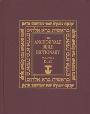 Anchor Yale Bible Dictionary, Vol 2. D-G   -     By: David Noel Freedman