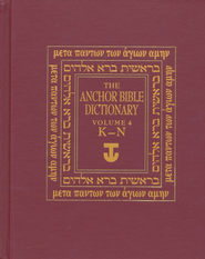 Anchor Yale Bible Dictionary, Vol. 4 K-N   -     By: David Noel Freedman