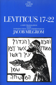 Leviticus 17-22: Anchor Yale Bible Commentary [AYBC]   -     By: Jacob Milgrom