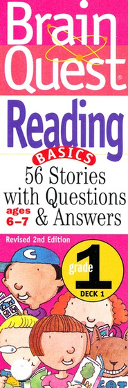 Brain Quest Grade 1 Reading, Revised 2nd Edition  -