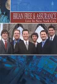 Live in New York City, DVD   -     By: Brian Free & Assurance