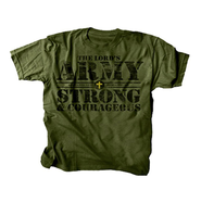 The Lord's Army Shirt, Green, Youth Extra Small  -